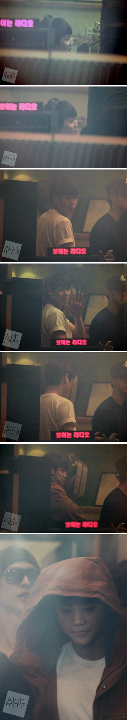 111107 BEAST at Hong Jin Kyung's 2PM Radio30