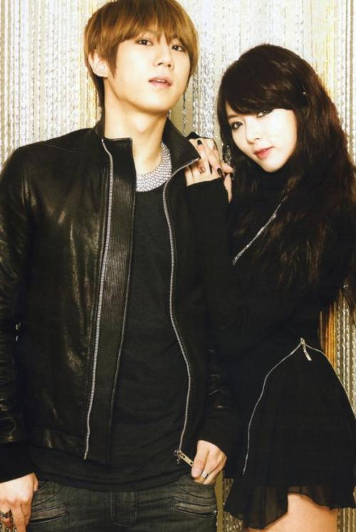 [PIC] 120128 Scan – JS & HyunA 'Trouble Maker' on Music ...
