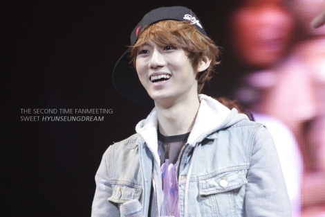120422 Hyunseung at BEAST & B2UTY 2nd Fanmeeting