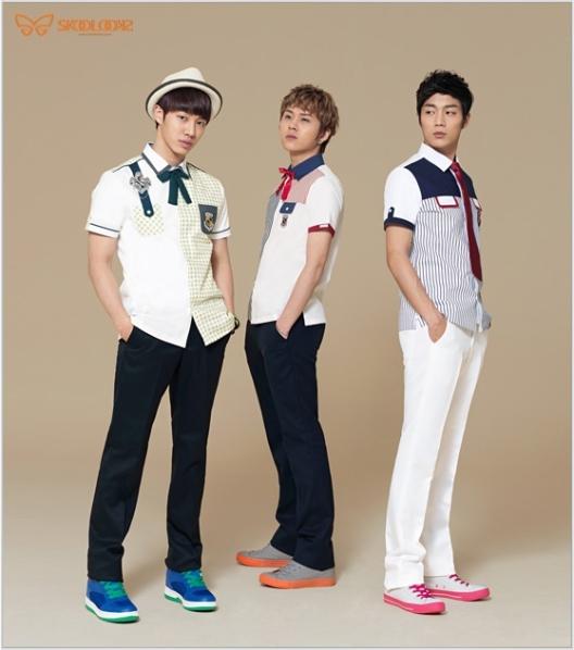 [ صور ] صور B2ST مع A PINK لـ Skool Looks !! 618605713
