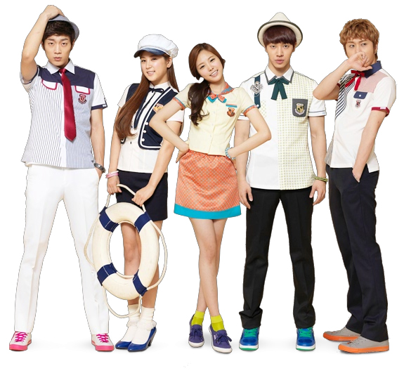 [ صور ] صور B2ST مع A PINK لـ Skool Looks !! 618606905