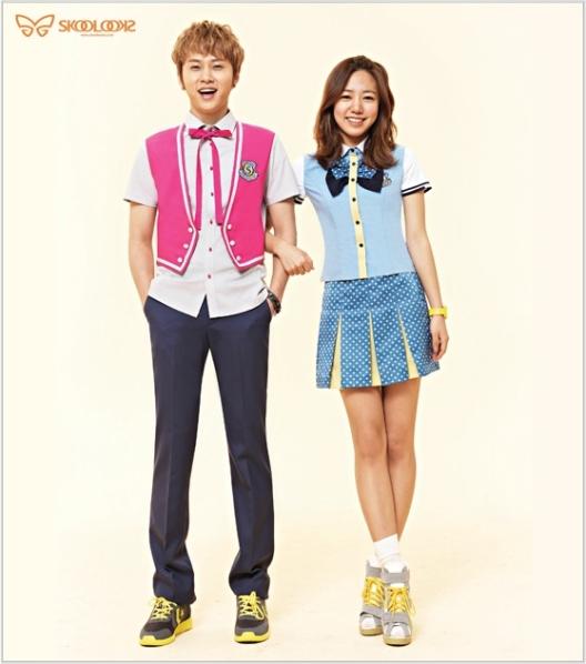 [ صور ] صور B2ST مع A PINK لـ Skool Looks !! 618677954