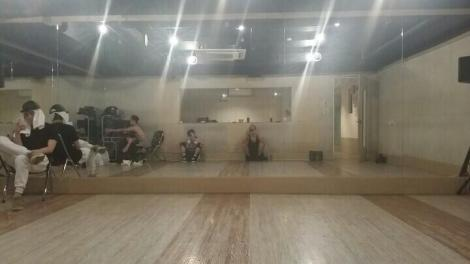It's 2,3 times longer than Bad Girl or Shock, in the middle of hard practice, please wait a little bit more^^