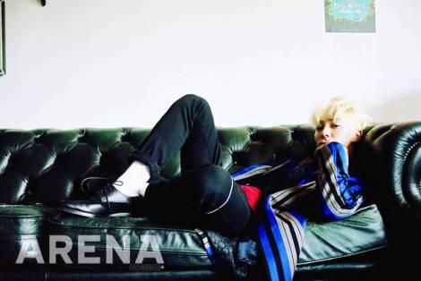 [alwaysbeast] Lee Gikwang - Arena Homme+ October 2014 Interview